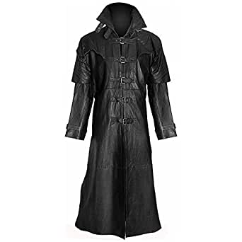 Vampire Duster Hugh Jackman Gothic Duster Long Coat (X-Large)