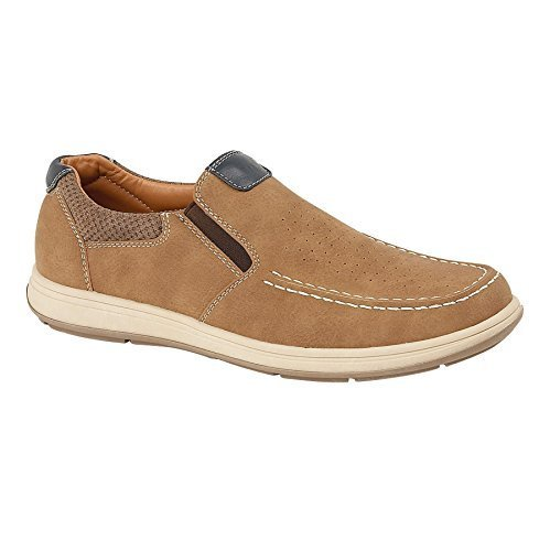 Sapphire Smart Sapphire Comfort Trainers Tan Leather Sapphire Suede by On Flat Loafers Men's Slip Faux Boutique Boutique Shoes rqW7E1xwrP