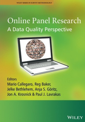 Online Panel Research: A Data Quality Perspective (Wiley Series in Survey Methodology) Paperback - May 27, 2014