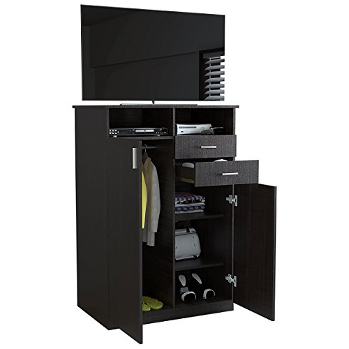 RTA Design Eco Collection, Entertainment Wardrobe (Smoked Oak, 1 unit) by RTA DESIGN