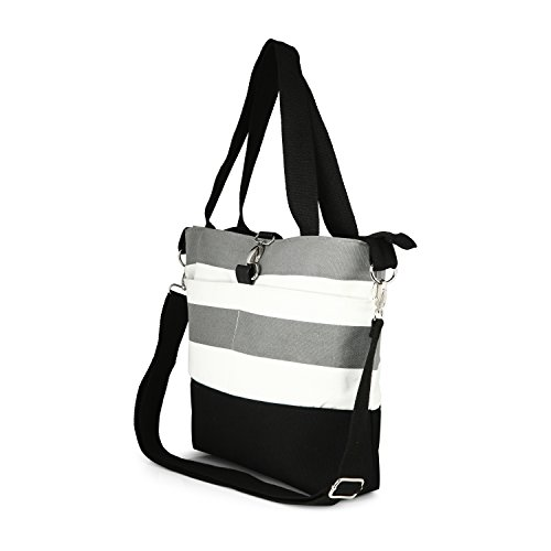 Amazon.com : Compact Mommy Tote Bag - Best Designer Ladies Handbag ...