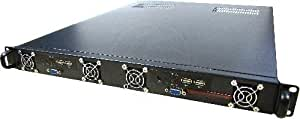 Box Rack19 IPC 1U, ATX 4 x 3,5 F605mm 2 Mini-ITX-Cablematic RackMatic Atom