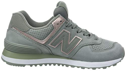574v2 Sneaker Balance Women's New Grey SqEFTAEx