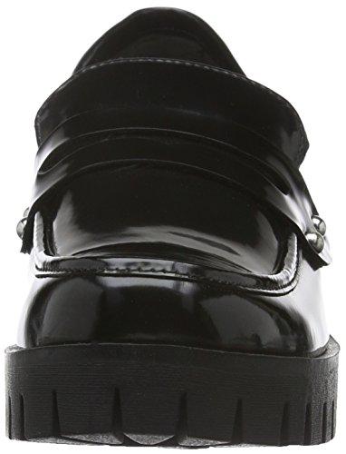 Tamaris 24307, Mocasines para Mujer Negro (BLACK BRUSH 025)