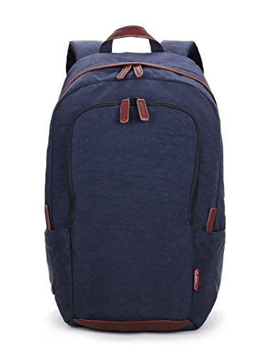 2017 Newest Entour Guildford Laptop Backpack Light-weight Water-resistant Multipurpose Large Capacity Durable Stylish for School, Business,Work,Traveling Fits Up to 15.6 inch Laptop Dark Blue