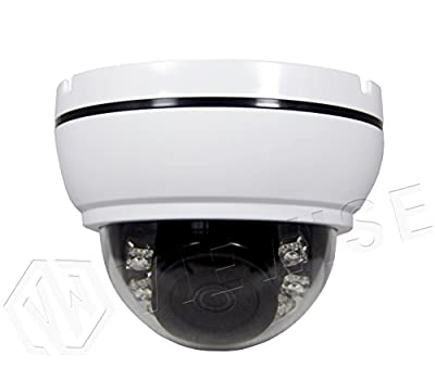 "VIEWISE 1080P 2Megapixel 1/2.7"" CMOS Sensor Indoor Security Camera 3.6mm Lens with IR Cut, Indoor Dome Camera - 24PCS Infrared LEDs, Night Vision, 65ft IR Distance, Polycarbonate Housing from VIEWISE"