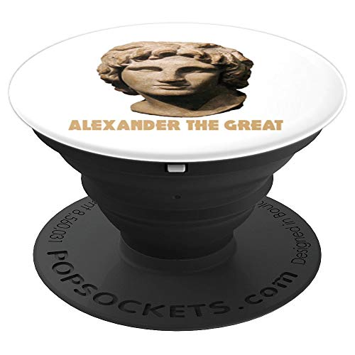 Alexander the Great of Macedon and Alexandria Old Egypt PopSockets Grip and Stand for Phones and Tablets]()