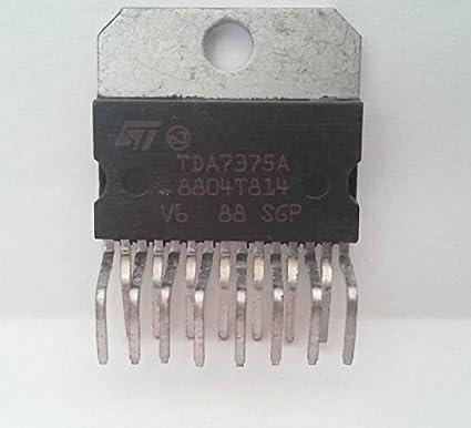 5PCS IC ZIP-15 ST NEW  TDA7375A