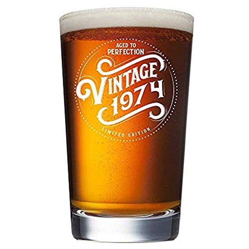 1974 45th Birthday Gifts for Men Women Beer