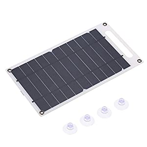 41NiXUgQoTL. SS300  - Lixada 7.8W Portable Ultra Thin Monocrystalline Silicon Solar Panel Charger USB Port for Cell Phone Outdoor Camping Climbing Hiking