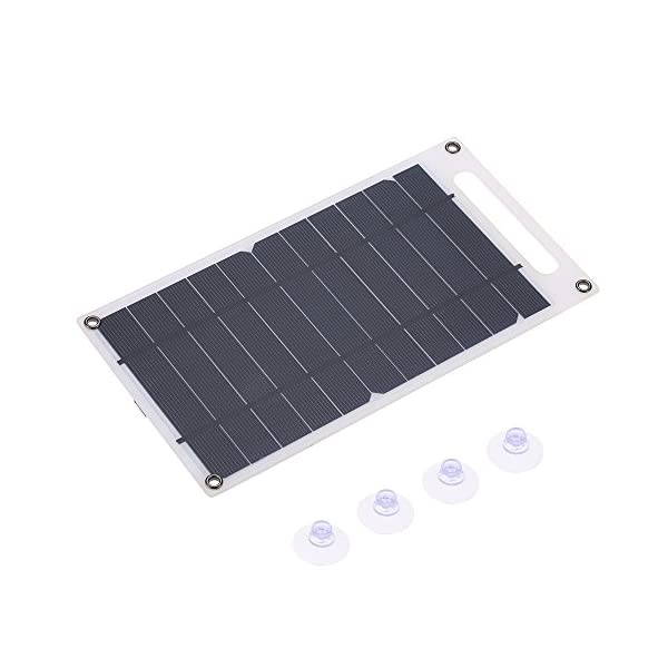 41NiXUgQoTL. SS600  - Lixada 7.8W Portable Ultra Thin Monocrystalline Silicon Solar Panel Charger USB Port for Cell Phone Outdoor Camping Climbing Hiking