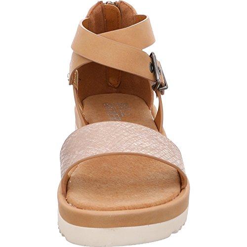 Sandales 103016F1S Solidus PLBG femme Beige pour q7ERwC