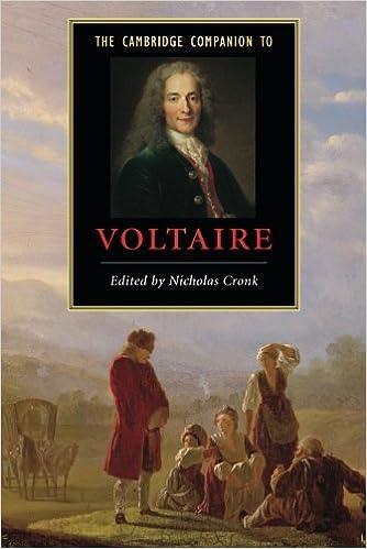 The Cambridge Companion to Voltaire (Cambridge Companions to Literature)