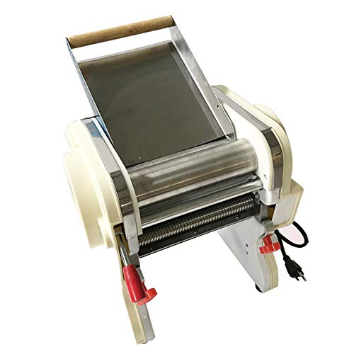 Techtongda Stainless Steel Electric Pasta Press Maker Noodle Machine Home Commercial 110v (3mm round knife #020335)