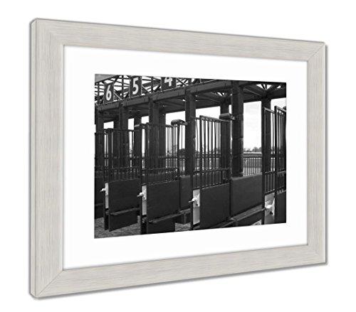 Ashley Framed Prints Starting Gate for A Horse