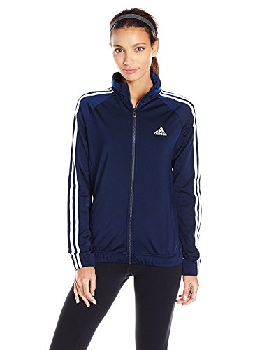 adidas Women's Designed-2-Move Track Jacket, Collegiate Navy/White, Large
