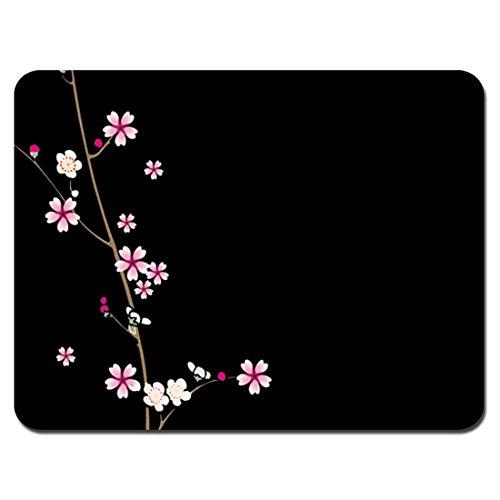 Designs Blossom Plum - Meffort Inc Standard 9.5 x 7.9 Inch Mouse Pad - Plum Blossoms Design