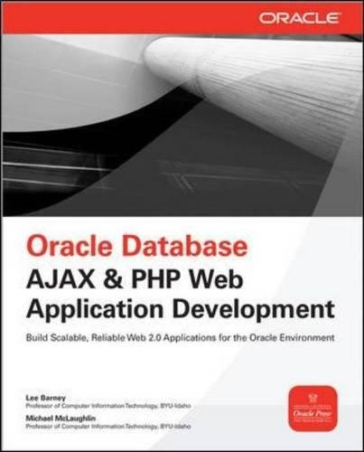 Oracle Database Ajax & PHP Web Application Development (Oracle Press) by McGraw-Hill Education