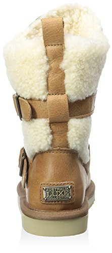 Luxe Kid's Collective Boot Nadir Chestnut with Australia Buckles wSqpaxwd
