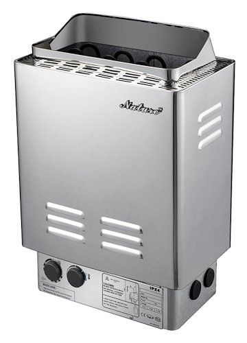 SS-NTSB60 6KW Stainless Steel Wet&dry Sauna Heater Stove Outer Controller Review