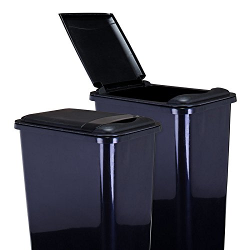 Hardware Resources CAN-35LID Plastic Waste Container Lid, Black ()