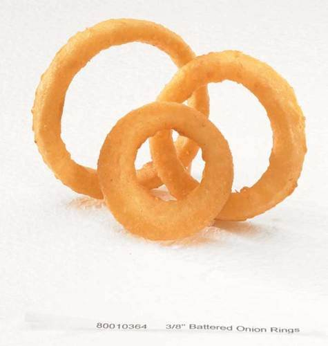 McCain Golden Crisp Fryersaver Battered Natural Onion Ring, 2.5 Pound -- 6 per case. by McCain