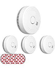 Ecoey Smoke Detector with Photoelectric Technology
