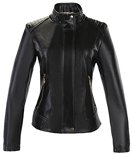 Quilted Leather Cropped Jacket - 6