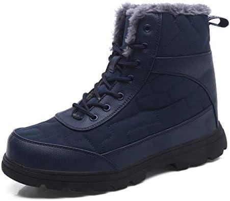 Exeblue حذاء ثلجي شتوي مقاوم للماء متوسط حذاء طويل الساق للرجال والنساء في الهواء الطلق خفيف الوزن أحذية للكاحل مع فرو كامل 37 Eu Amazon Ae