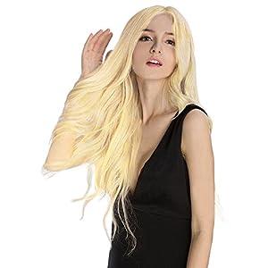 KINGHAIR Bleach Blonde(#613) Clip In Remy Hair Extensions - 20 Inches - 170G Full Head Set