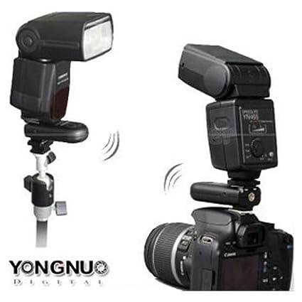Yongnuo RF-603 C3 - Transceptor de disparos para unidad flash de cámara fotográfica digital Canon (apto para modelos 1D 5D II 7D 50D 40D 30D 20D): ...