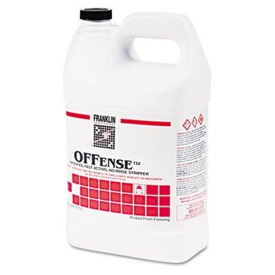 Franklin Cleaning Technology F218022CT Offense Floor Stripper, 1gal Bottle, 4/Carton