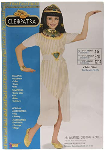 Forum Novelties Queen Cleopatra Costume, Child Small -