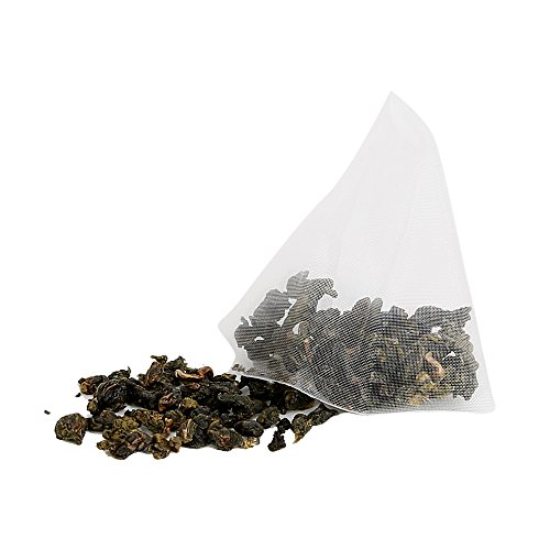 Yan Hou Tang Organic Taiwan Original Green Oolong 50 Teabags -Loose Leaf High Mountain Fragrance Flavor Taste Formosa Spice for Detox Weight Loss and stress relief