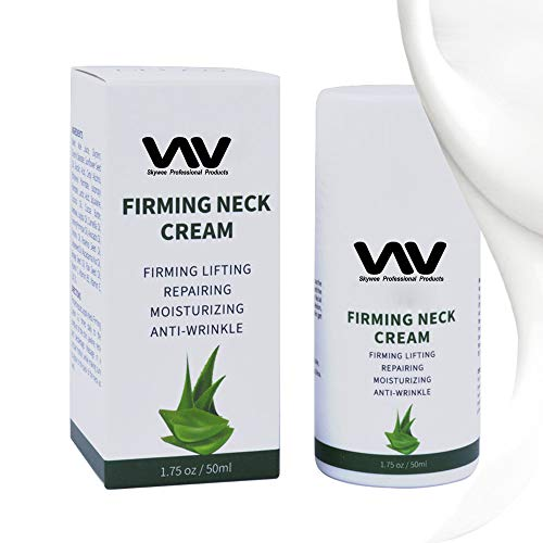 Neck Cream, Anti Aging Neck Firming Tightening Moisturizer Cream Lotion for Wrinkles Fine Lines and Dark Circles, Vitamin C Hyaluronic Acid for Double Chin, Sagging, Crepe Skin, Night Face Chest Cream