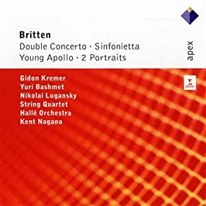 Double Concerto / Sinfonietta / Young Apollo