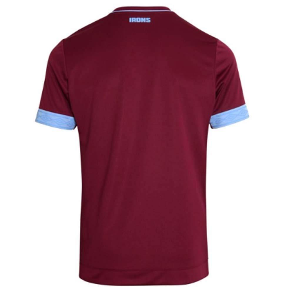 2018-2019 West West West Ham Home Football Soccer T-Shirt Trikot (Jack Wilshere 19) a4552b
