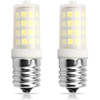 aooshine e17 led microwave bulb 5 watt daylight white 6000k base 45w equivalent2