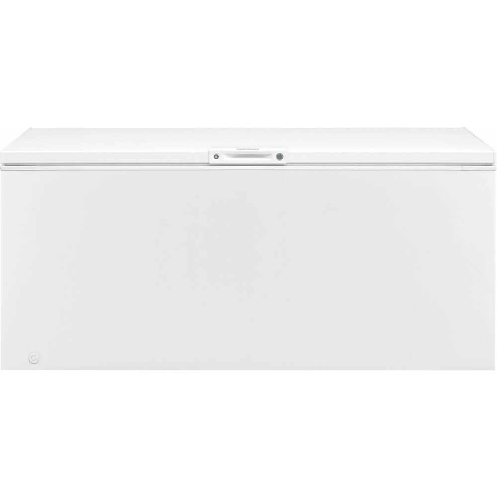 Frigidaire FFFC25M4TW 84 Inch Freezer with 24.8 cu. ft. Capacity, Manual Defrost, CSA Certified in White