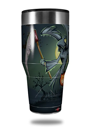 Skin Decal Wrap for Walmart Ozark Trail Tumblers 40oz Halloween Reaper (TUMBLER NOT INCLUDED) by WraptorSkinz