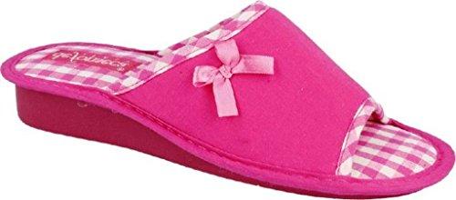 Zapatillas Rosa Mujer de fonseca de Algodón Estar Por casa de EU Rosa Para 37 pFA5qw