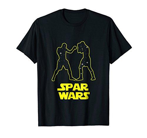 Spar Wars Boxing Parody Spoof T-Shirt - Mens & - Boxing Womens Dark T-shirt
