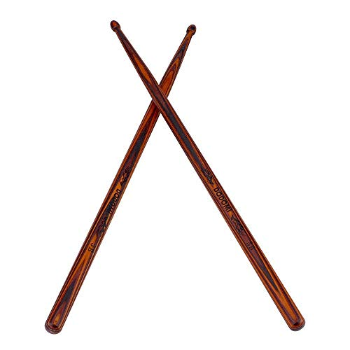 Drum Sticks American Classic 5B Wood Tip Drumsticks, 5B American Maple Wood Drum Sticks Suitable for Drumer Playing, Beginner practicing, and More