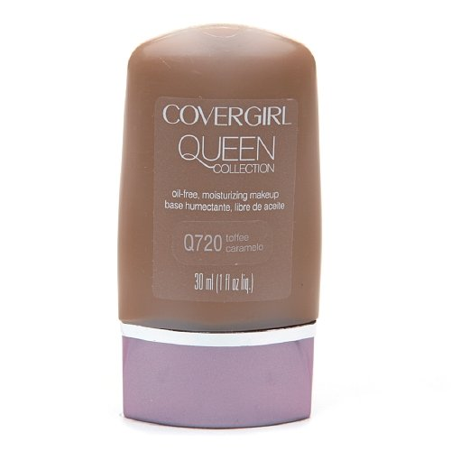 CoverGirl Queen Collection Oil-Free Moisturizing Make up, Toffee Q720 1 fl oz (30 ml)