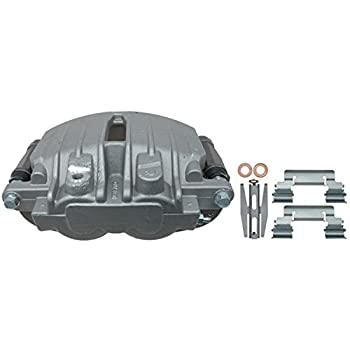 Image of ACDelco 18FR1592 Professional Rear Passenger Side Disc Brake Caliper Assembly without Pads (Friction Ready Non-Coated), Remanufactured Calipers Without Pads