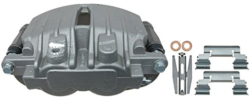 ACDelco 18FR1592 Professional Rear Passenger Side Disc Brake Caliper Assembly without Pads (Friction Ready Non-Coated), Remanufactured