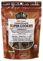 Go Raw Chocolate Super Cookies -- 3 oz