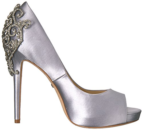 Women's Karolina Silver Pump Mischka Badgley XYFq1w