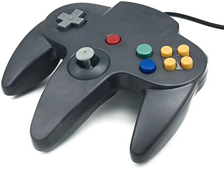 N64 gray usb to pc/mac classic gamepad controller s for nintendo.