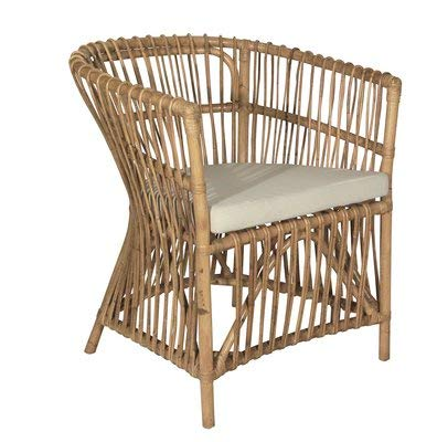 Wicker Accent Chairs.Amazon Com Wicker Accent Chair With Wood Frame Accent Barrel
